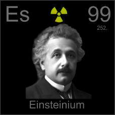 Einsteinium Poster sample