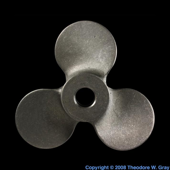 Molybdenum Hastelloy propeller
