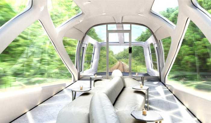 Το πιο πολυτελές μοντέρνο τρένο!