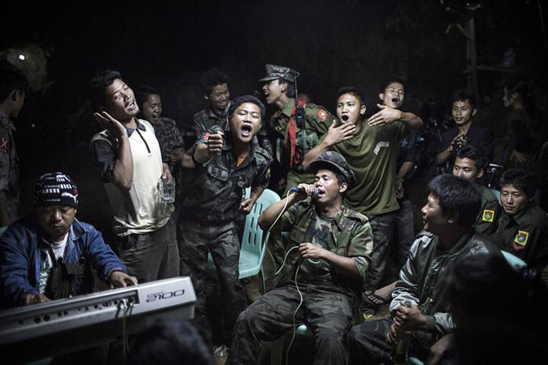 Julius Schrank, a German photographer working for De Volkskrant won 1st Prize Daily Life Single category of the 2014 World Press Photo