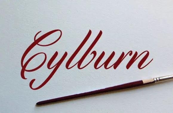Cylburn-font