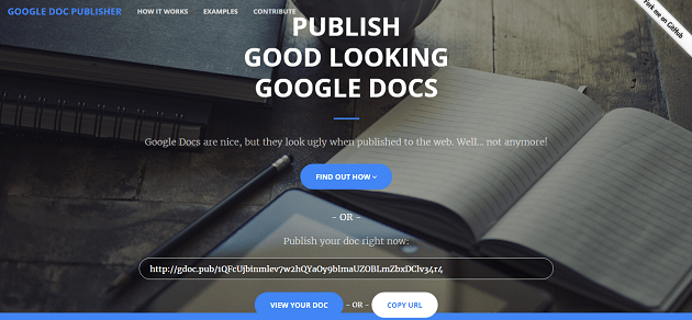Google-Doc-Publisher