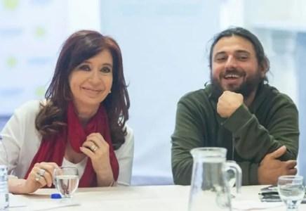 Juan Grabois y Cristina Fernández de Kirchner