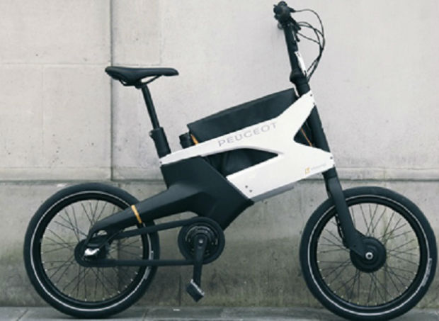 bicicleta eléctrica de peugeot-w620