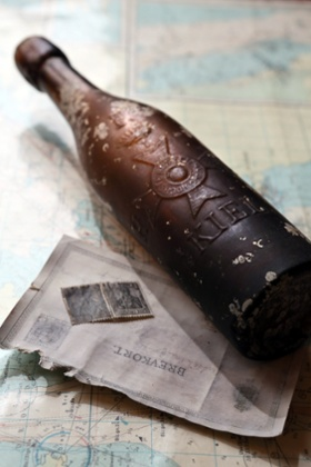 Fishermen catch oldest message in a bottle in the world