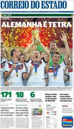 """""""Alemania es tetracampeón"""""""