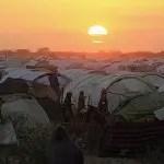 DOCU_GRUPO The sun sets over the Ifo extension refugee camp in Dadaab, near the Kenya-Somalia border -GF0M0VS1.JPG de Externa ABC