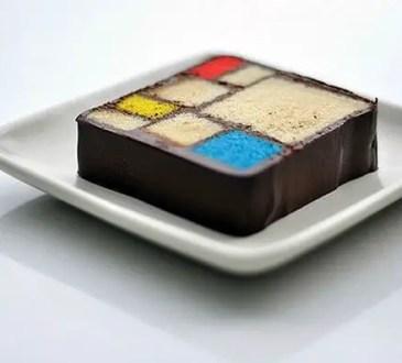 Mondrian Cake por Caitlin Freeman