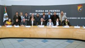 Integrantes del XXII Ayuntamiento de Mexicali.