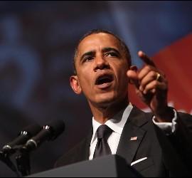 El presidente de Estados Unidos, Barack Obama, el pasado 24 de septiembre de 2011.