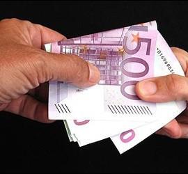 Los ricos defraudan con billetes de 500