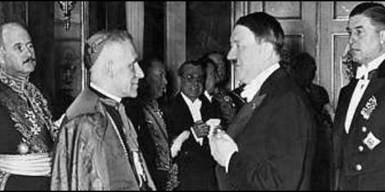 Los vínculos entre la Iglesia católica y la Alemania nazi