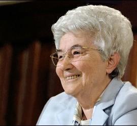 Chiara Lubich, fundadora del os Focolares