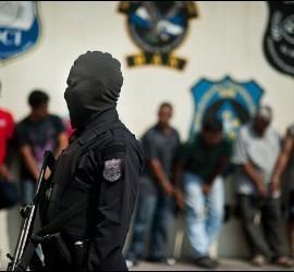 Operativo contra pandilleros en San Salvador