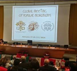 Encuentro de Movimientos Populares en el Vaticano