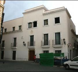 Obras en la sede del arzobispado en Badajoz
