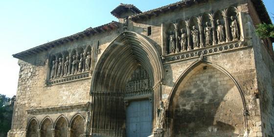 Iglesia del Santo Sepulcro, Estella, Navarra.