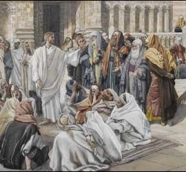 Jesús reprende a los fariseos