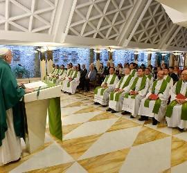Homilía sobre Juan de Francisco en Santa Marta