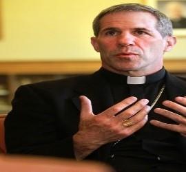 El nuevo obispo coadjutor en Guam, Michael J. Byrnes