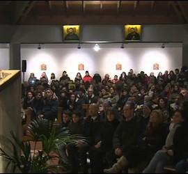 El Papa en una parroquia romana