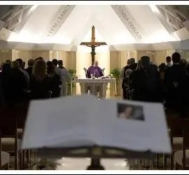 Homilía del Papa en la Casa Santa Marta