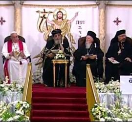 El Papa, y los patriarcas, juntos