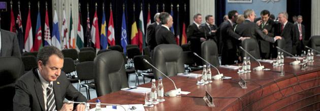 Los lideres mundiales aislan a Zapatero