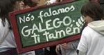 «Fusilaron a mi abuelo por galleguista y hoy a mis hijos les imponen el gallego»