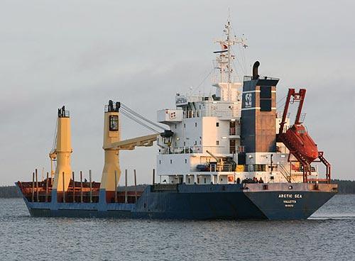 ¿Transportaba armas el Arctic Sea en sus bodegas? (Foto: periodistadigital.com).