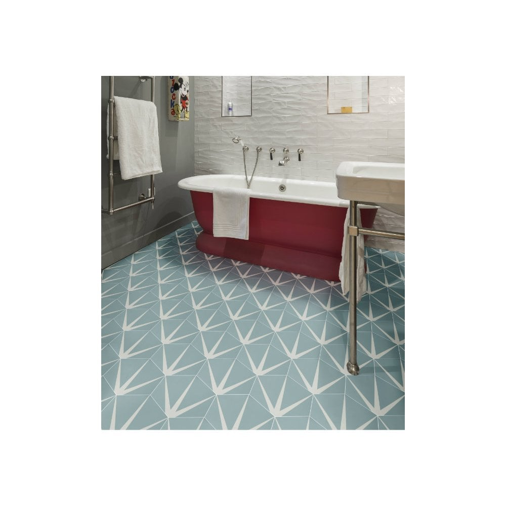 ca pietra porcelain lily pad pattern wall floor tiles