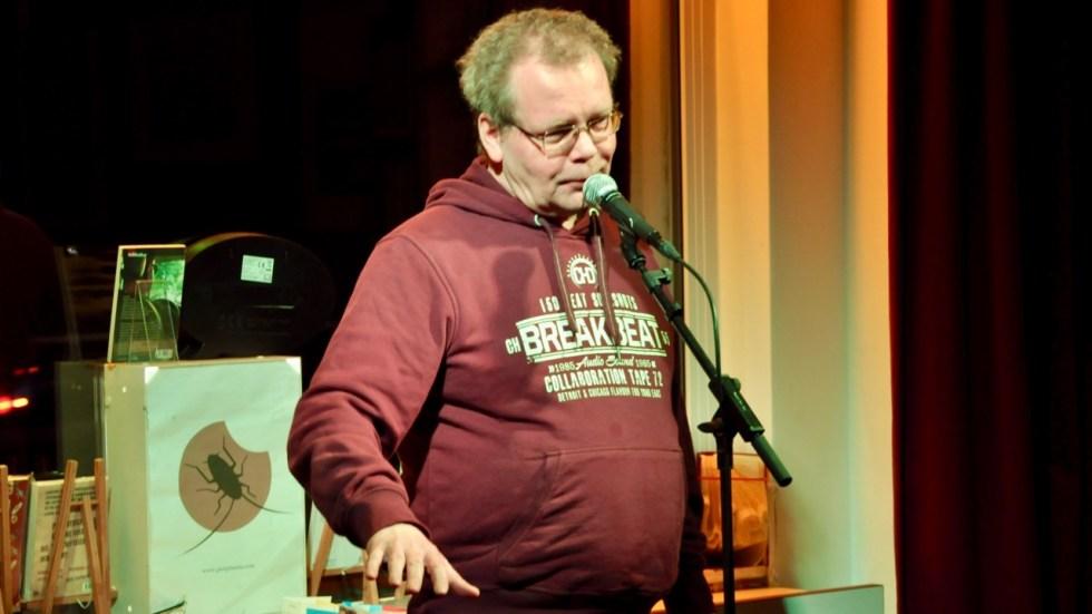 """Lesebühne """"Vision und Wahn"""" mit Robert Rescue"""