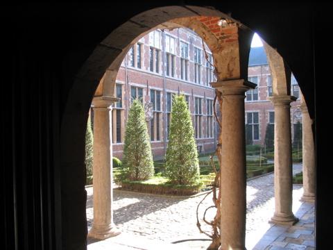 Plantin Courtyard