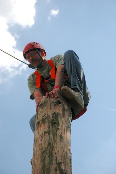 Pole Climbin'