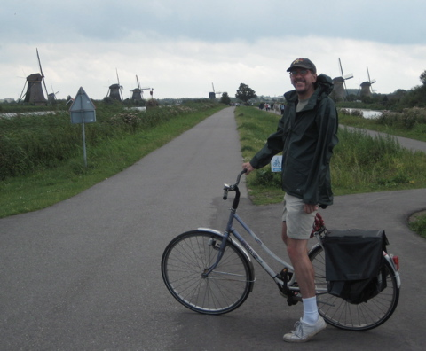 Curt at Kinderdijk