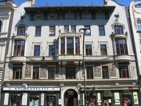 Praha building