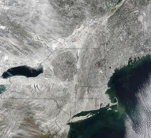 east coast snowed in