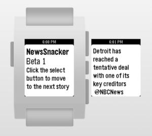 newsSnacker screenshot