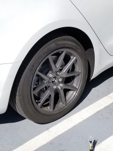 How to fix minor rim scrape on a Tesla 3 and the 3-6-9 rule