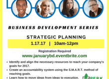 January Business Development Workshop