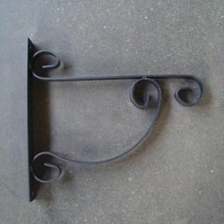 Wandhaak 35 cm voor ronde bakken
