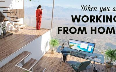 Focus on these 4 things when you are working from home