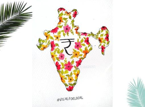 Atmanirbhar Bharat Illustration