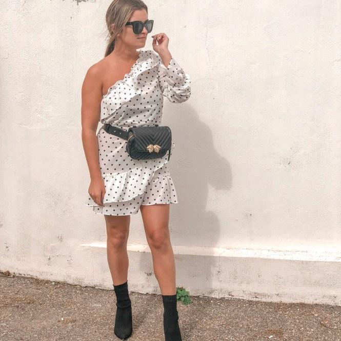 Vestido polka dots de Femme Luxe