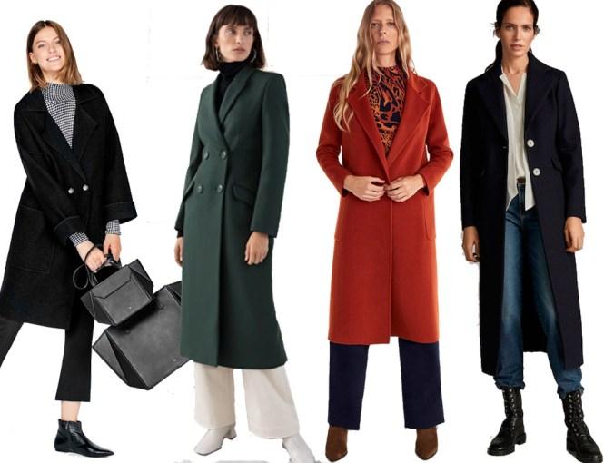 Abrigo  en tiendas de pronto moda