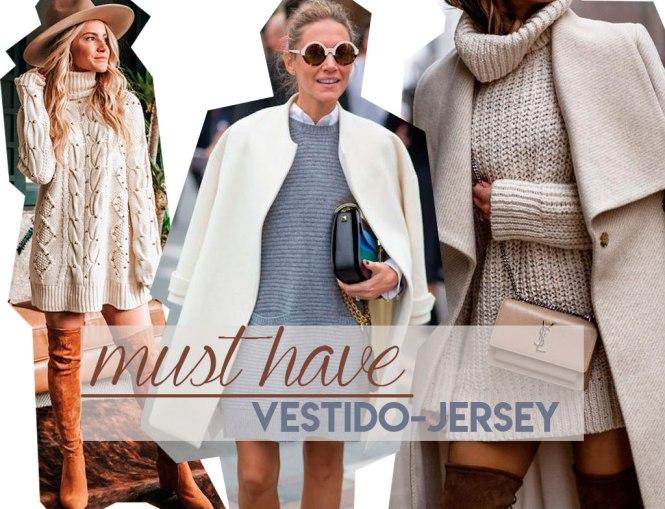 Must have: Vestido - jersey