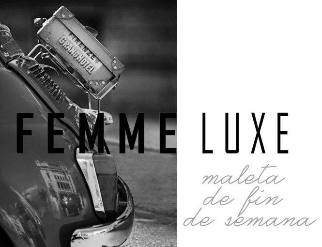 portada femme luxe fin de semana
