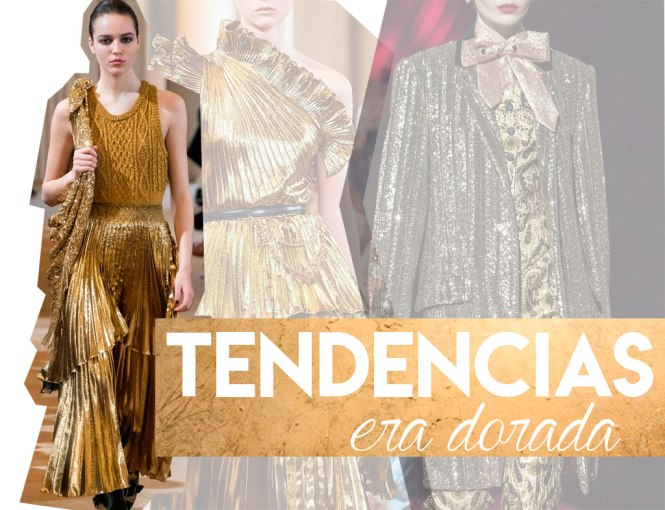 Tendencias AW 19/20: Oro parece