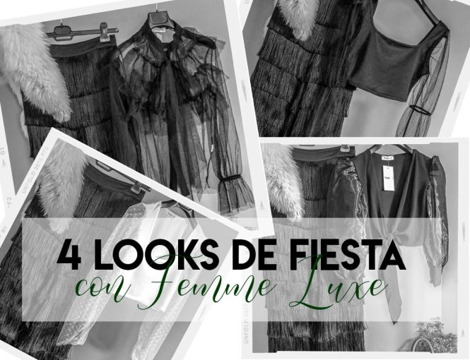 Cuatro looks de fiesta con Femme Luxe