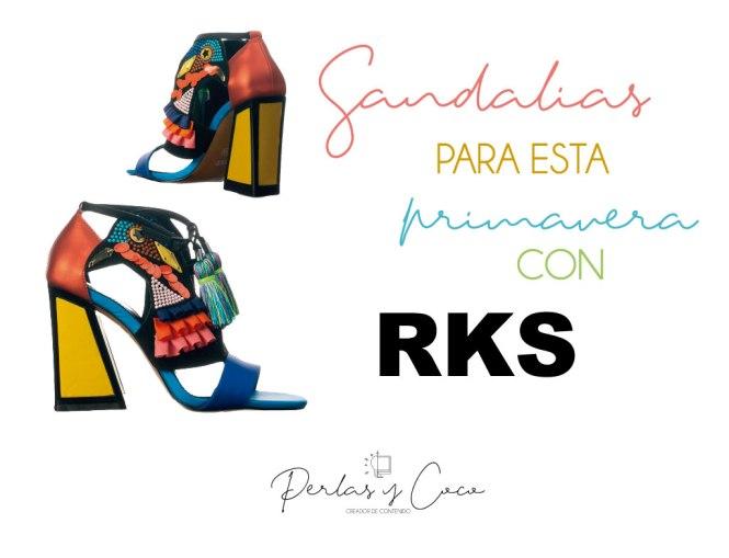 Sandalias de mujer para esta primavera con RKS